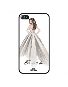 Coque Bride To Be Mariée Mariage pour iPhone 4 et 4S - kateillustrate