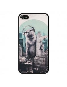 Coque Loutre Dj New York pour iPhone 4 et 4S - Ali Gulec