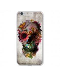 Coque iPhone 6 Plus et 6S Plus Skull Flower Tête de Mort - Ali Gulec
