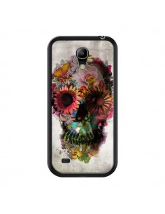 Coque Skull Flower Tête de Mort pour Samsung Galaxy S4 Mini - Ali Gulec