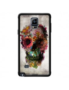 Coque Skull Flower Tête de Mort pour Samsung Galaxy Note 4 - Ali Gulec
