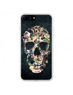 Coque iPhone 7 Plus et 8 Plus Skull Vintage Tête de Mort - Ali Gulec