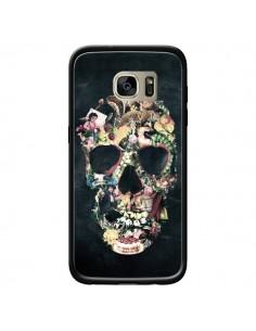 Coque Skull Vintage Tête de Mort pour Samsung Galaxy S7 Edge - Ali Gulec