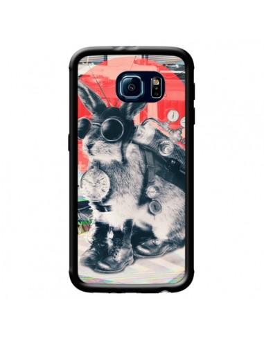 Coque Lapin Time Traveller pour Samsung Galaxy S6 - Ali Gulec