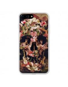 Coque iPhone 7 Plus et 8 Plus Jungle Skull Tête de Mort - Ali Gulec