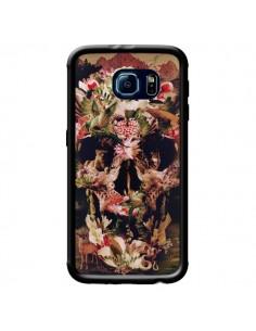Coque Jungle Skull Tête de Mort pour Samsung Galaxy S6 - Ali Gulec