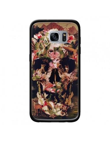 Coque Jungle Skull Tête de Mort pour Samsung Galaxy S7 - Ali Gulec
