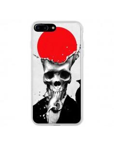 Coque iPhone 7 Plus et 8 Plus Splash Skull Tête de Mort - Ali Gulec