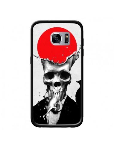 Coque Splash Skull Tête de Mort pour Samsung Galaxy S7 - Ali Gulec