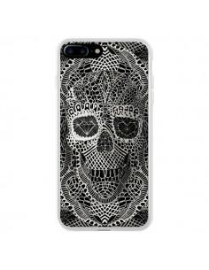 Coque iPhone 7 Plus et 8 Plus Skull Lace Tête de Mort - Ali Gulec