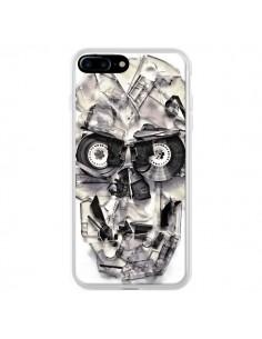 Coque iPhone 7 Plus et 8 Plus Tape Skull K7 Tête de Mort - Ali Gulec