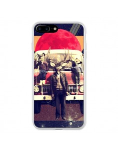 Coque iPhone 7 Plus et 8 Plus Cerf Le Camion - Ali Gulec