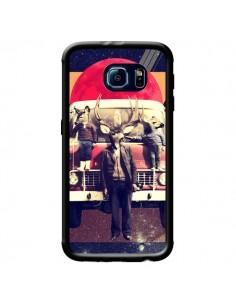 Coque Cerf Le Camion pour Samsung Galaxy S6 - Ali Gulec