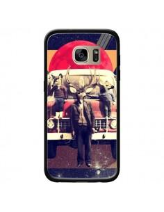 Coque Cerf Le Camion pour Samsung Galaxy S7 Edge - Ali Gulec