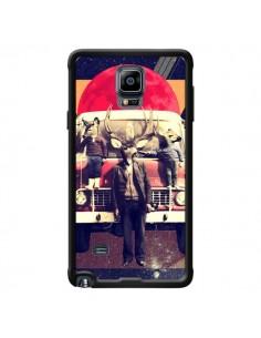 Coque Cerf Le Camion pour Samsung Galaxy Note 4 - Ali Gulec