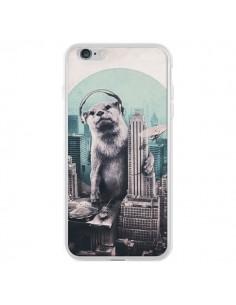 Coque iPhone 6 Plus et 6S Plus Loutre Dj New York - Ali Gulec