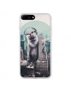 Coque iPhone 7 Plus et 8 Plus Loutre Dj New York - Ali Gulec
