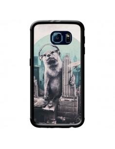 Coque Loutre Dj New York pour Samsung Galaxy S6 - Ali Gulec