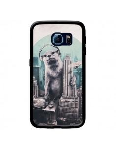 Coque Loutre Dj New York pour Samsung Galaxy S6 Edge - Ali Gulec