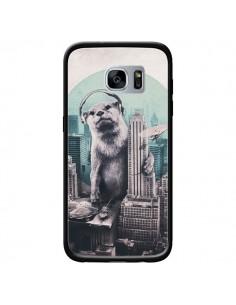 Coque Loutre Dj New York pour Samsung Galaxy S7 - Ali Gulec