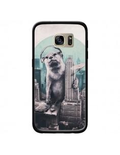 Coque Loutre Dj New York pour Samsung Galaxy S7 Edge - Ali Gulec