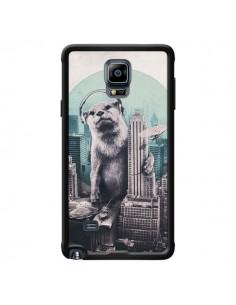 Coque Loutre Dj New York pour Samsung Galaxy Note 4 - Ali Gulec