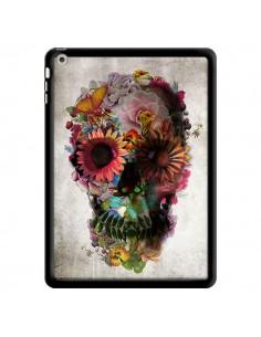 Coque Skull Flower Tête de Mort pour iPad Air - Ali Gulec