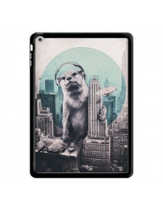 Coque Loutre Dj New York pour iPad Air - Ali Gulec