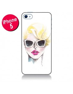 Coque Blonde Chic pour iPhone 5 - Elisaveta Stoilova