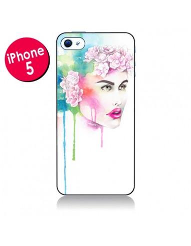 Coque Libra Femme pour iPhone 5 - Elisaveta Stoilova