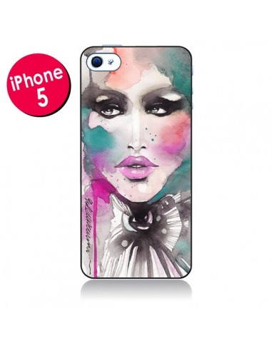 Coque Love Color Femme pour iPhone 5 - Elisaveta Stoilova