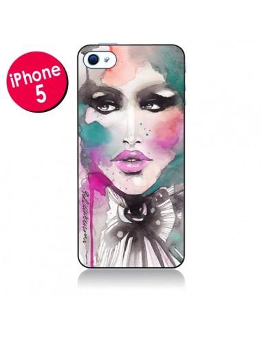 Coque Love Color Femme pour iPhone 5 - Elisaveta Stoilova