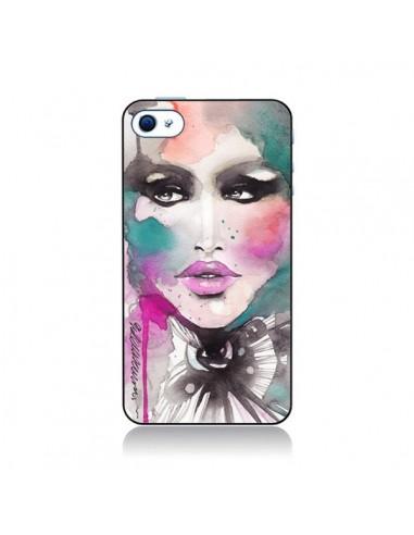 Coque Love Color Femme pour iPhone 4 et 4S - Elisaveta Stoilova