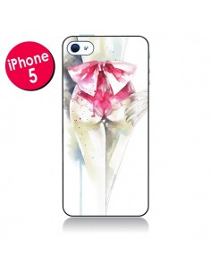 Coque Love is a Madness Femme pour iPhone 5 - Elisaveta Stoilova