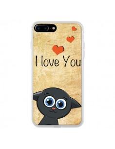Coque Cute Cat pour iPhone 7 Plus - Nico