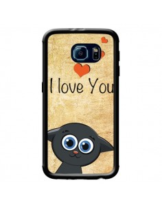 Coque Cute Cat pour Samsung Galaxy S6 - Nico