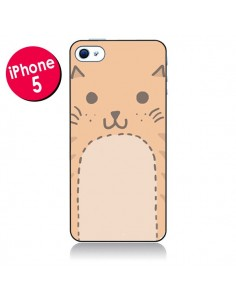 Coque Big Cat chat pour iPhone 5 - Santiago Taberna
