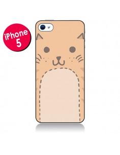 Coque Big Cat chat pour iPhone 5 - Santiago Taberna