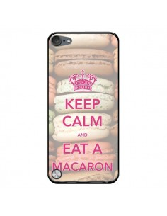 Coque Keep Calm and Eat A Macaron pour iPod Touch 5 - Nico