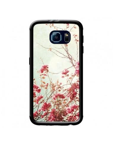 Coque Fleur Vintage Rose pour Samsung Galaxy S6 - Nico