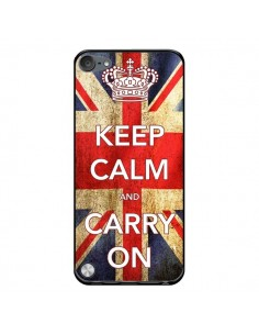 Coque Keep Calm and Carry On pour iPod Touch 5/6 et 7 - Nico