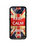 Coque Keep Calm and Carry On pour Samsung Galaxy S6 - Nico
