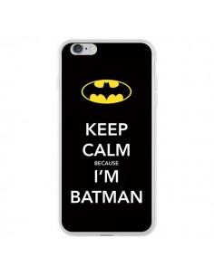 Coque Keep Calm because I'm Batman pour iPhone 6 Plus et 6S Plus - Nico