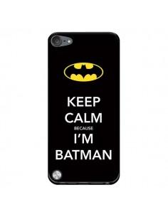 Coque Keep Calm because I'm Batman pour iPod Touch 5/6 et 7 - Nico