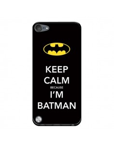 Coque Keep Calm because I'm Batman pour iPod Touch 5 - Nico