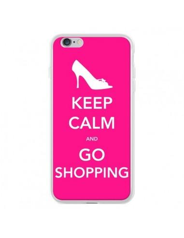Coque iPhone 6 Plus et 6S Plus Keep Calm and Go Shopping - Nico