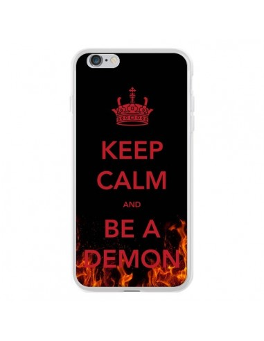 Coque iPhone 6 Plus et 6S Plus Keep Calm and Be A Demon - Nico