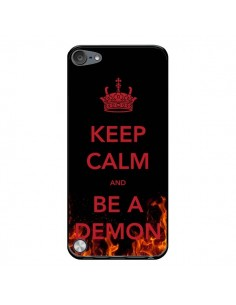 Coque Keep Calm and Be A Demon pour iPod Touch 5/6 et 7 - Nico