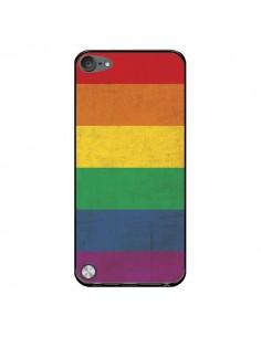 Coque Drapeau Arc En Ciel Gay pour iPod Touch 5 - Nico