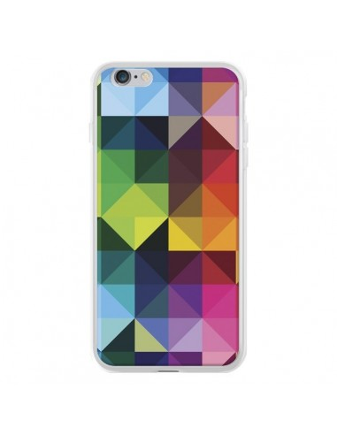 Coque iPhone 6 Plus et 6S Plus Polygone - Nico